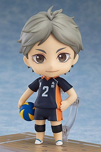 Koshi Sugawara Karasuno High vs Shiratorizawa Academy Nendoroid Figurine