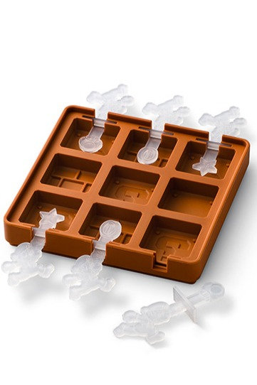 Jeu de plateaux en silicone (blocs)