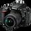 Thumbnail: Nikon D5600 Digital SLR Camera Double Zoom Lens Kit (Black)
