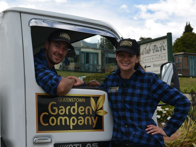 QT Garden Company Liam and Tammy