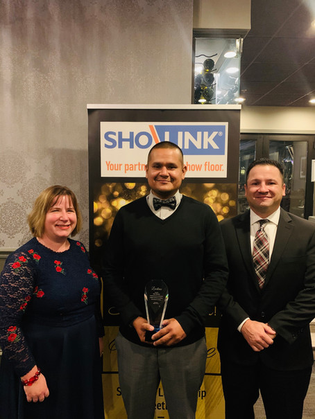 Jose Herrera named as the 2019 Sho-Link Employee of the Year