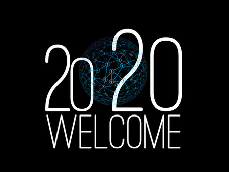 WELCOME 2020.  THANKING YOU IN ADVANCE