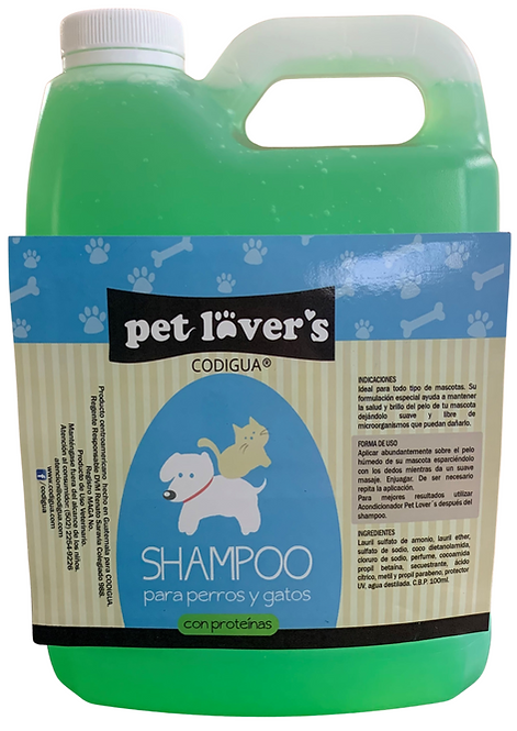 Shampoo y/o Rinse de medio galón - 0.50gl.