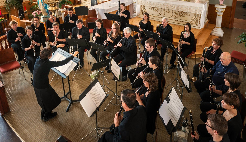 Clarinet Choir : Choeur d'Ébène Dire