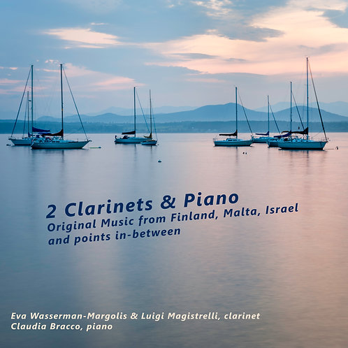 2 CLARINETS AND PIANO - only download