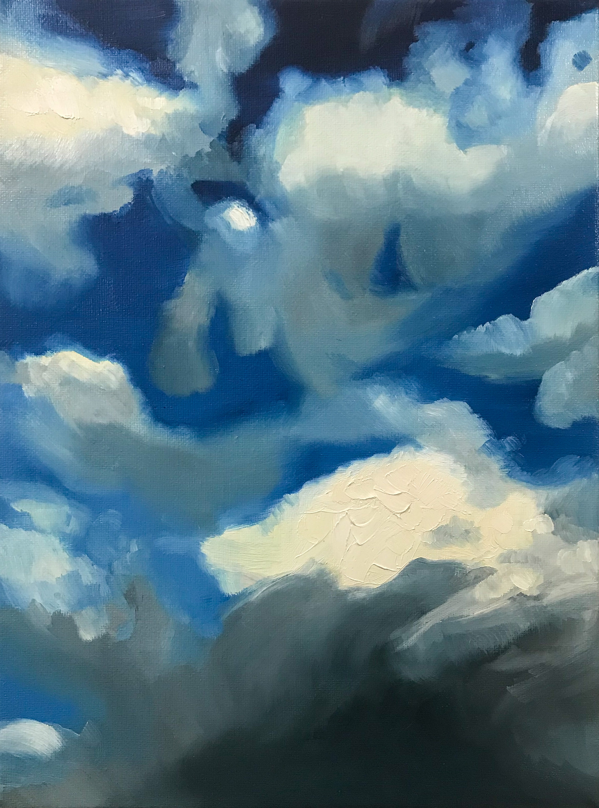 Summer Sky 1 Oil on Canvas 2020