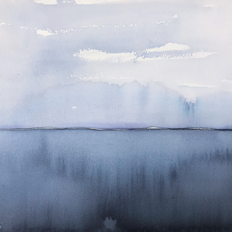 Horizon Watercolor 2019