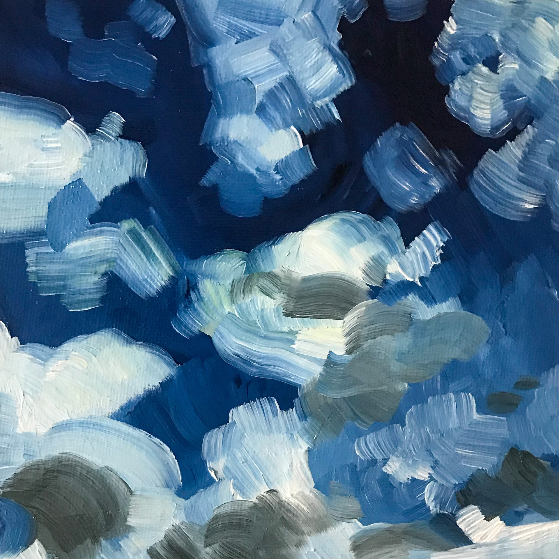Summer Sky 3 Oil on Canvas 2020