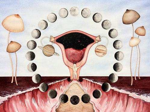 Wombniverse - Giclee Print