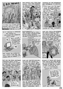 Anzac Day Comic