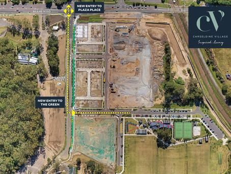 New Carseldine Field Access