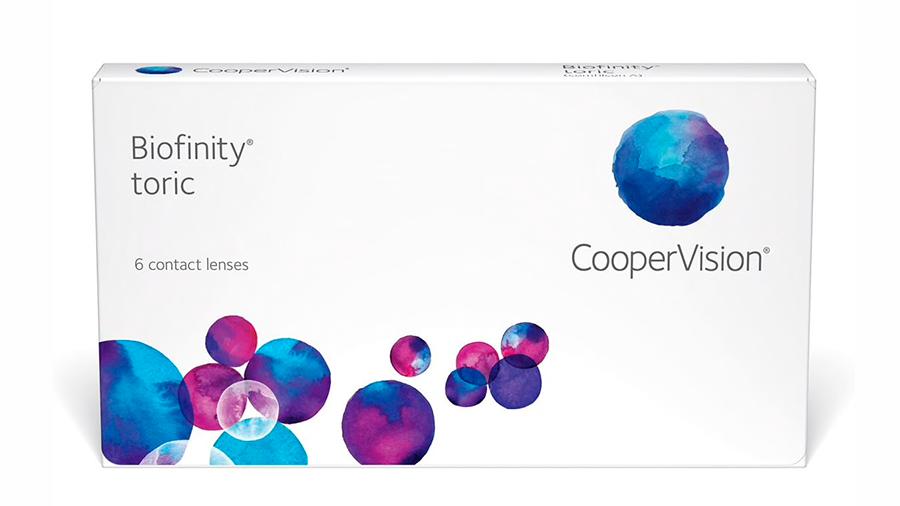 Biofinity Toric Coopervision