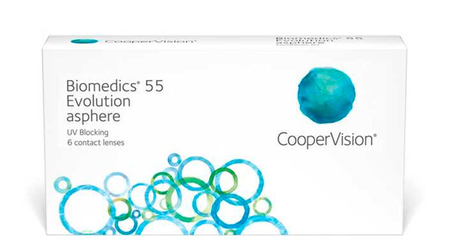 Biomedics 55 Evolution Coopervision
