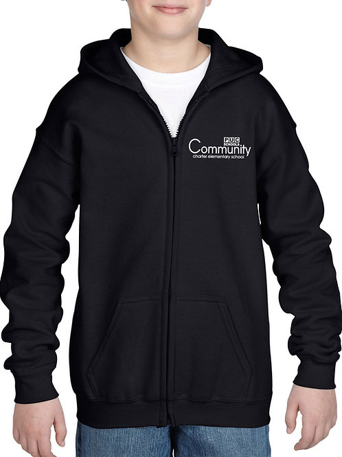 CCMS Zipper Hooded Sweatshirt