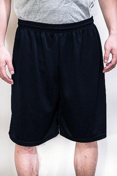Black P.E. Shorts