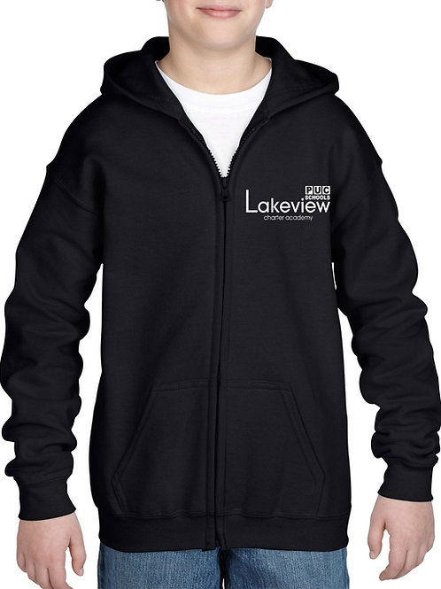 LCA Zipper Hooded Sweatshirt