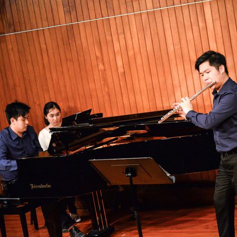The Arc | Piano & Flute Duo