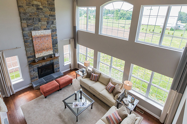 TH Properties Blog  I  Family Room with Natural Lighting