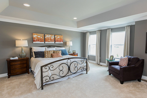 Master bedroom suite, New Homes in Montgomery County PA