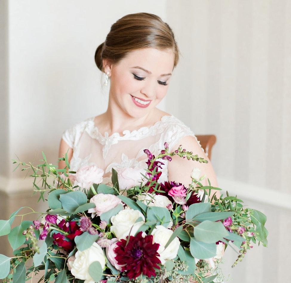 Bride, makeup, wedding