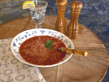 Easy Tomato Basil Soup