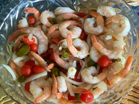 Hot Pickled Shrimp