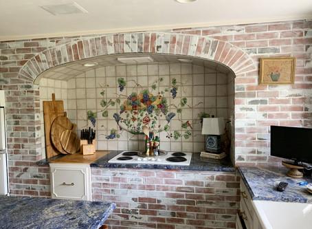 One Room Challenge:  Week 3 Kitchen Makeover