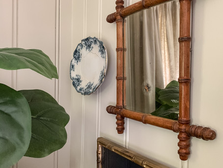 Mirrors/ Hints to Separate Antique from Reproduction