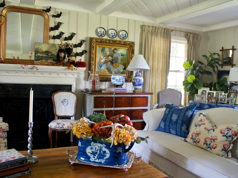 Fall Living Room Decor and Launch of my new site!!