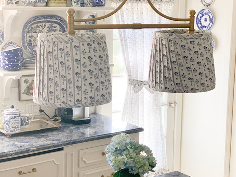 DIY Pleated Lamp Shade:  How-To