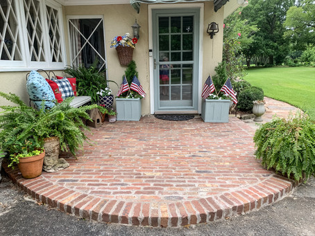 Brick Landing/Small Side Porch Reveal