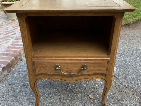 Furniture Makeover | Small Side Table