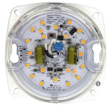 "FLUSH MOUNT RETROFIT KIT/LIGHT ENGINE 10W 3"" 2700K V2"