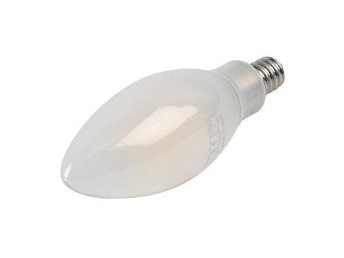 4W LED FROSTED  FILAMENT B10 90+CRI 2700K DIM E12