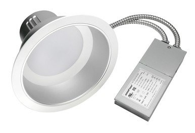 "ECO SERIES COMMERCIAL DOWNLIGHT 6"" 27W  WHITE TRIM VERSION 2"