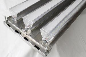 LED High Bay Retrofit System, 5000K, 2 ParaBars�, 72 Watt 0-10V