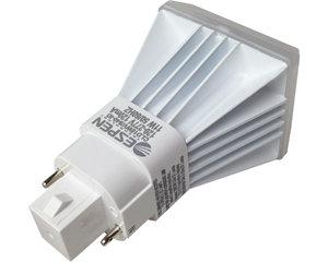 RetroFlex mag ballast compaitble CFQ lamp, G24d vertical, 8W, 900lm- Qnty 25