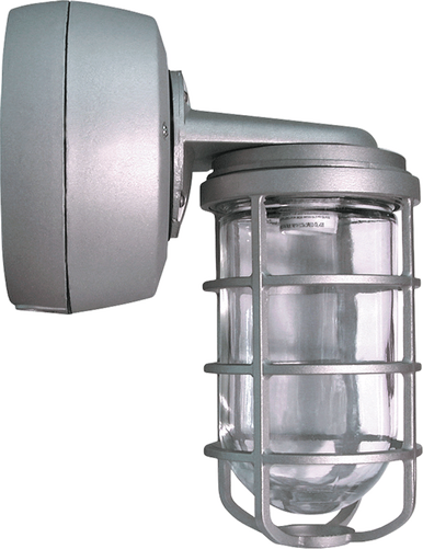 14W JELLY JAR, CEILING / WALL MOUNT,  FROSTED GLASS LENS, LONG