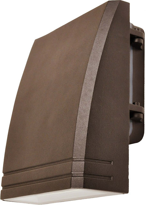 Slim WALLPACK - Adjustable Angle - 15w - Black