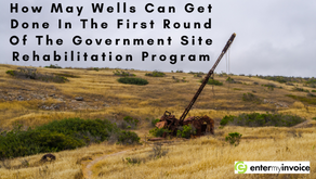 How May Wells Can Get Done In The First Round Of The Government Site Rehabilitation Program