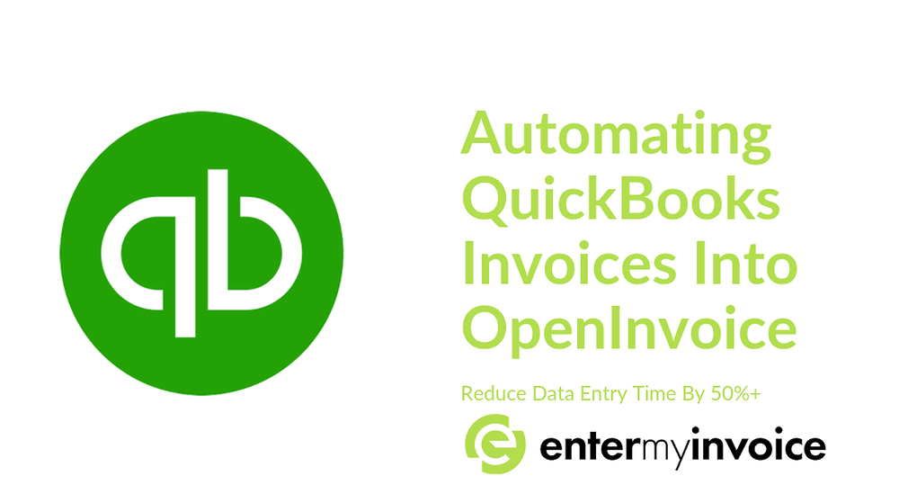 How to entery Quickbooks Invoices into OpenInvoice