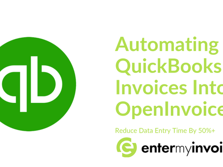 How to Automatically Enter Your Quickbooks Invoice Details Into OpenInvoice