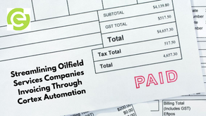 Streamlining Oilfield Services Companies Invoicing Through Cortex Automation