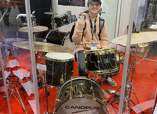 NDB Drummer Signs Endorsement Deal with CANOPUS Drums