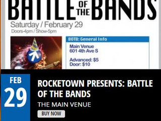 "Next Door Boys Place 2nd in Rocketown, Nashville ""Battle of the Bands"""
