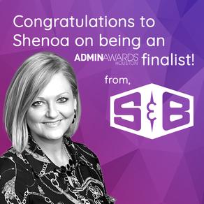 Congratulations Shenoa!