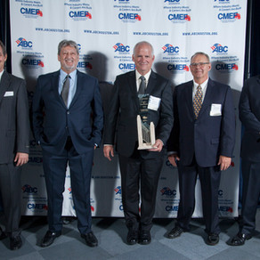 S & B Receives ABC Excellence in Construction Award