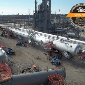S & B Honored with Excellence in Construction Eagle Award for Energy Transfer's Lone Star NGL Frac V