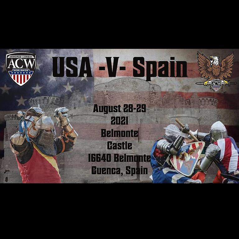 ACW Team USA VS Spain (POSTPONED)