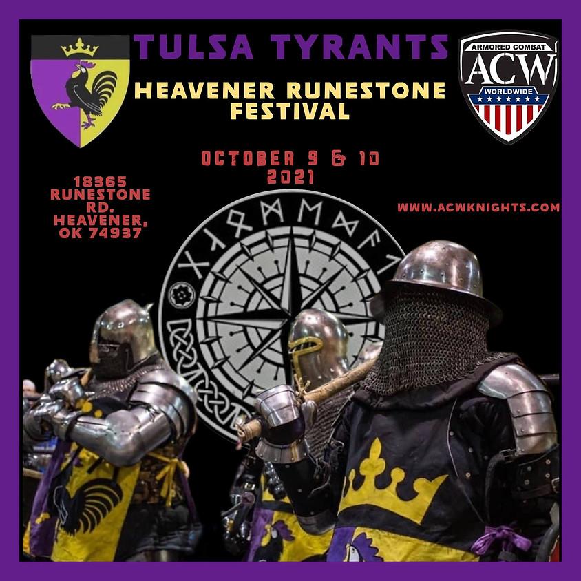 Tulsa Tyrants - Heavener Runestone Festival